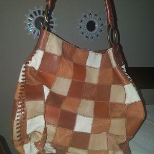 Lucky Brand vintage patchwork purse
